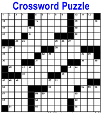 Click for Crossword Puzzle